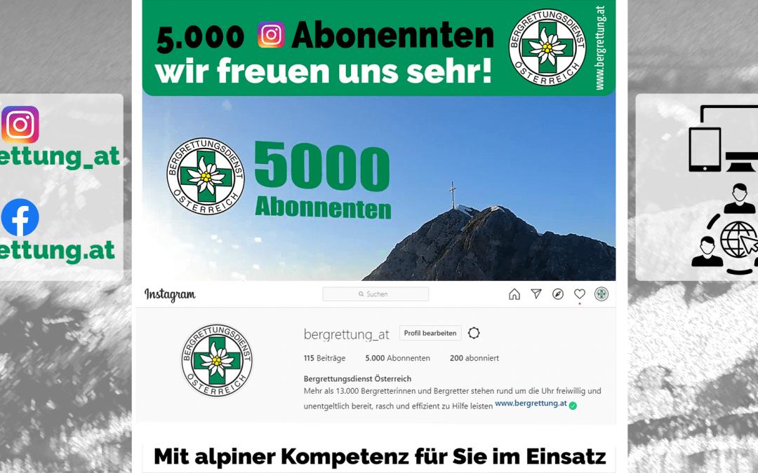 5000 Abonennten