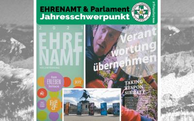 Jahresschwerpunkt des Parlaments: Ehrenamt