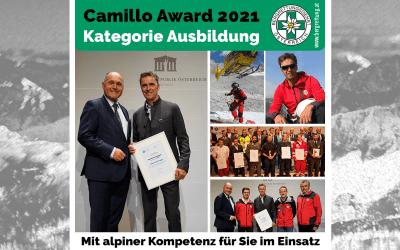 Camillo Award 2021
