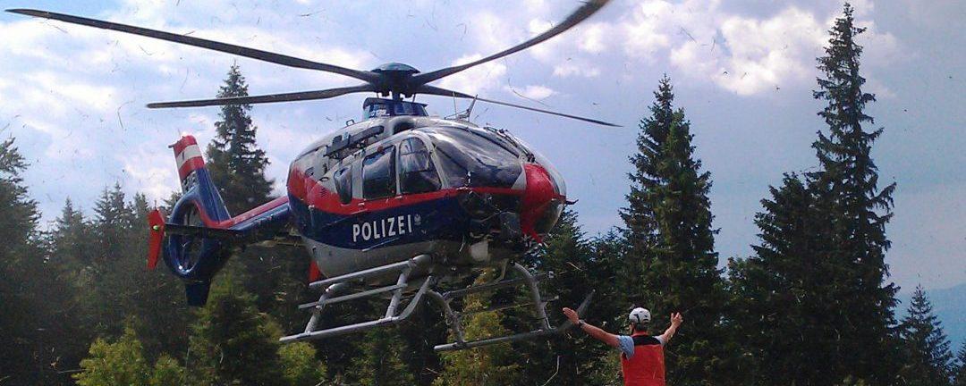 Flugpolizei – Missbräuchliche Bergungen künftig kostenpflichtig