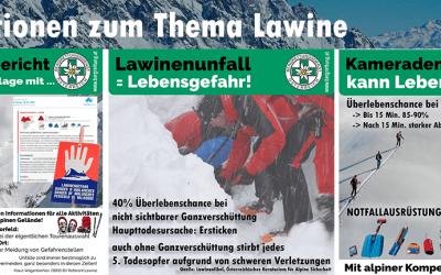 Informationen zum Thema Lawine