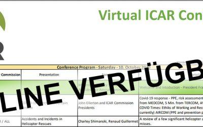 Erstmaliger virtueller IKAR Kongress