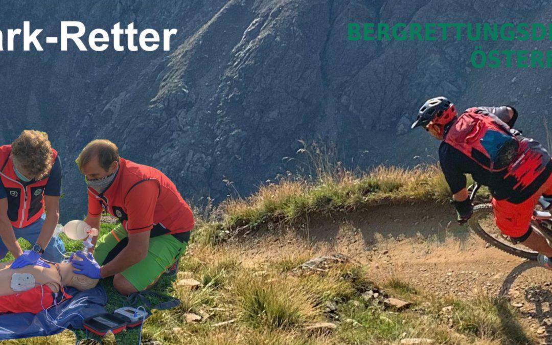 Bike-Parks   Bergrettung rüstet sich mit eigenem Schulungsprogramm