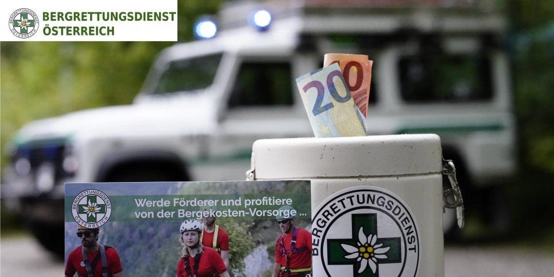 Über die Finanzierung des Österreichischen Bergrettungsdienstes