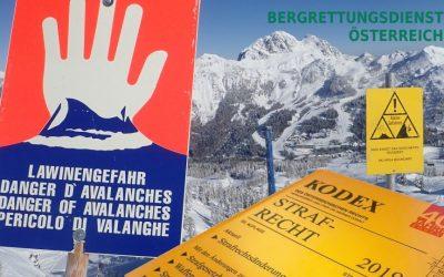 ÖBRD Position zur Diskussion um Strafen im alpinen Bereich