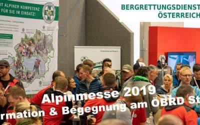 ALPINMESSE 2019 mit Besucherrekord & ÖBRD Premiere