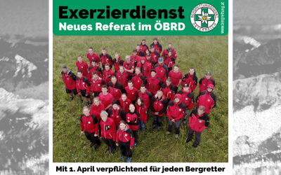 Exerzierdienst – neues Referat im ÖBRD
