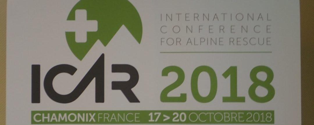 ICAR 2018 Konferenz (International Commission for Alpine Rescue)