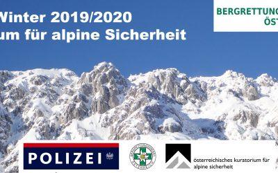 Alpine Unfallstatistik — Bericht Winter 2019/20