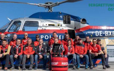 Österreichweite Ausbildungsphase zur RECCO SAR Nutzung abgeschlossen