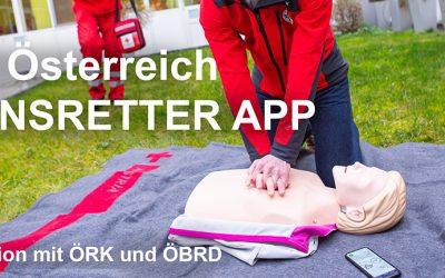 Team Österreich Lebensretter App – Kooperation ÖRK und ÖBRD