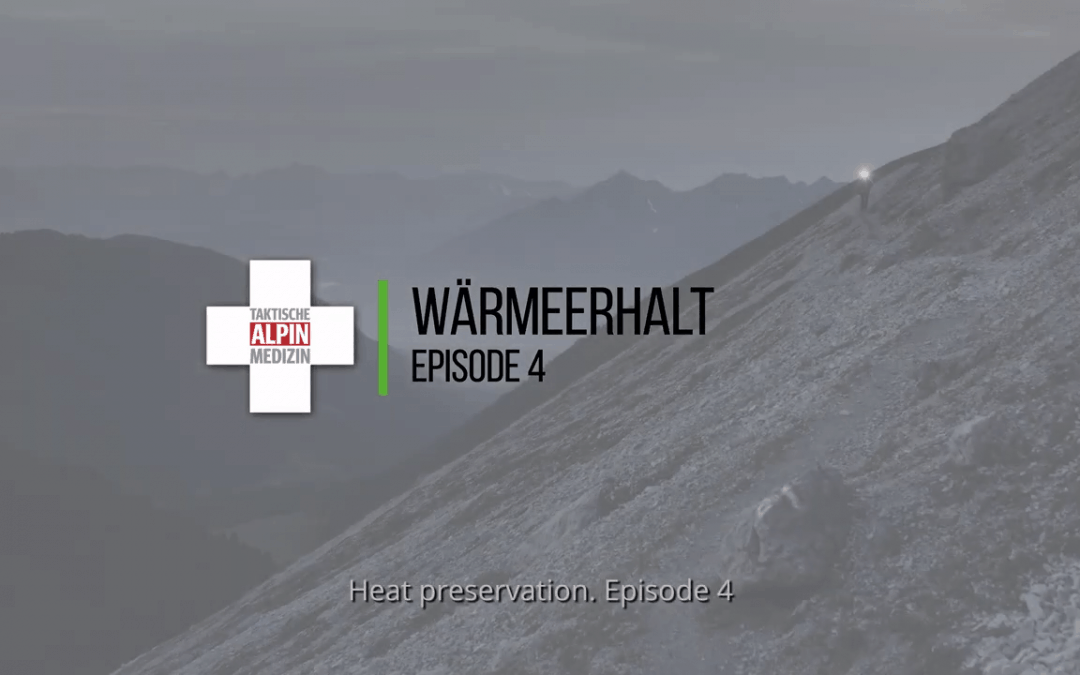Erste Hilfe – Wärmeerhalt